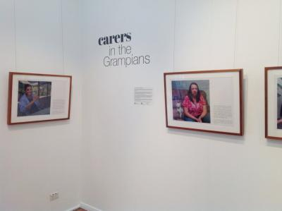 Carers in the Grampians exhibition at ARAG