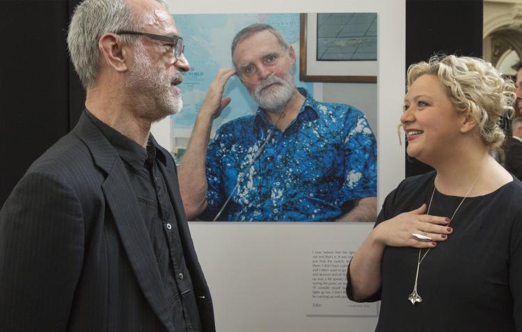 Bernard Ring and Jill Hennessy MP